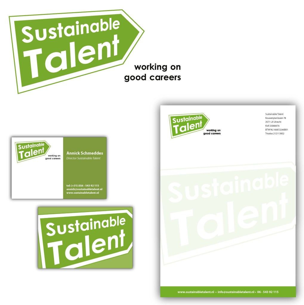 Logo en huisstijl Sustainable Talent